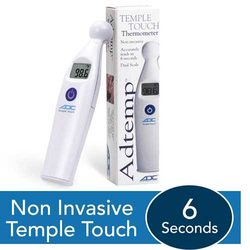 Cover Image For Adtemp Temple Touch Thermometer