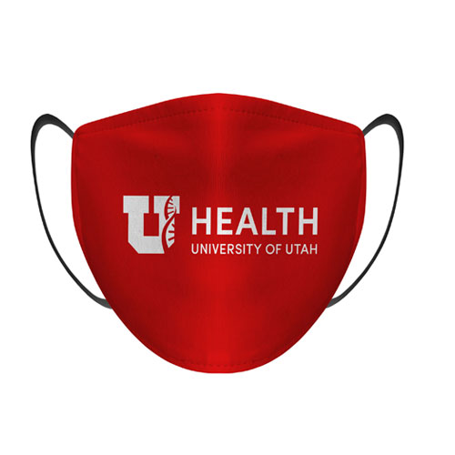 Cover Image For *U Health Protective Red Face Mask