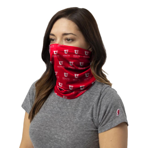 Cover Image For University of Utah Health Everyday Neck Gaiter