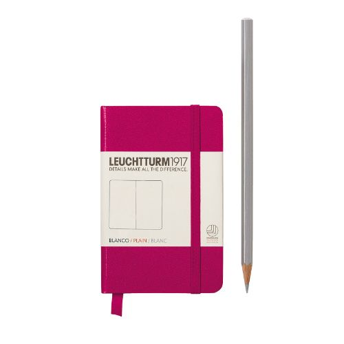 Image For Leuchtturm Plain Notebook (A7) - Hardcover