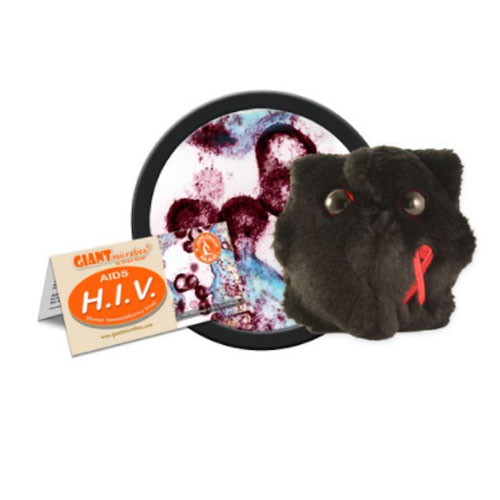 Image For HIV Giant Microbes