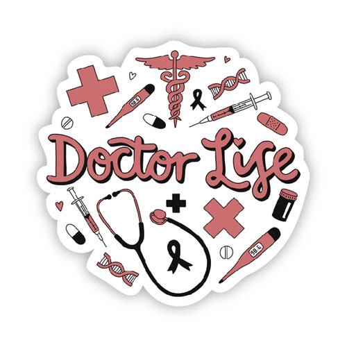 Image For Doctor Life Sticker