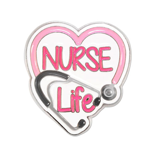Image For Nurse Life Pin