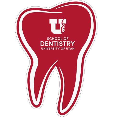 Image For University of Utah Tooth Decal