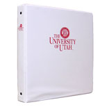 Image For University of Utah 3 Ring 1 Inch Binder
