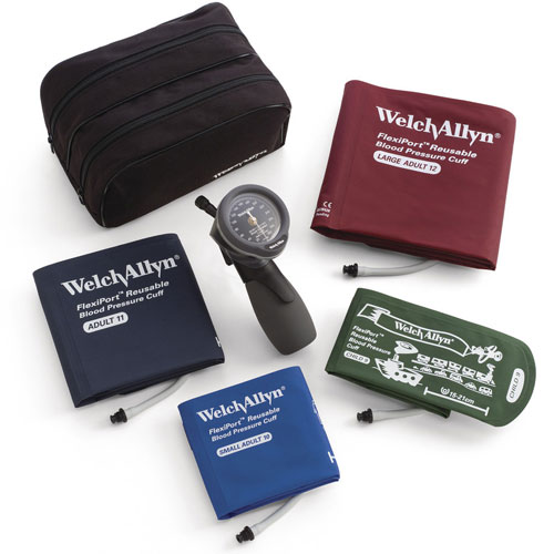 Hand Aneroid Sphyg Multi-Cuff Kit