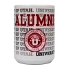 Image for University of Utah Medallion Alumni Repeating Text Mug