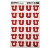 Image for University of Utah Red Block U Stickers