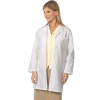 Image for Ladies Fashion White Coat-444