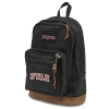 Image for Jansport Black Utah Backpack