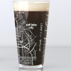 Image for University of Utah College Map Pint Glass
