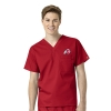 Image for Athletic Logo Unisex Scrub Top
