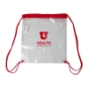 Image for U of U Health Helix Clear Drawstring Tote