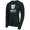 Image for University of Utah Health Helix Block U Long Sleeved Tee