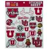 Image for University of Utah Sticker Sheet