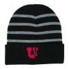 Image for University of Utah Health Block U Striped Beanie