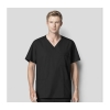 Image for Men's V Neck Scrub Top