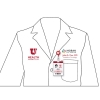 Image for White Coat Logo Embroidery