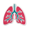 Image for Human Lungs Lapel Pin