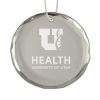 Image for University of Utah Health Crystal Holiday Ornament