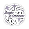 Image for Nurse Practitioner Sticker