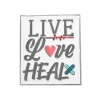 Image for Live Love Heal Pin