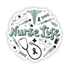 Image for Nurse Life Sticker